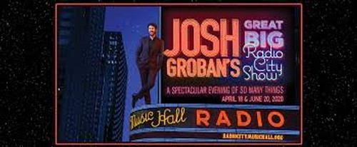 Josh Groban at Radio City Music Hall, NYC!