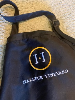 Halleck Vineyard Apron